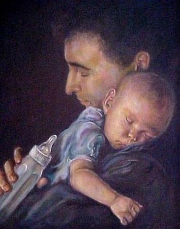 Compartindo espazo doméstico: paternidades e maternidades.
